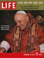Life Magazine, November 10, 1958 - Pope John XXIII