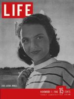 Life Magazine, November 11, 1946 - After-school models