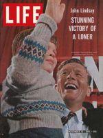 Life Magazine, November 12, 1965 - New York City mayor-elect John Lindsay