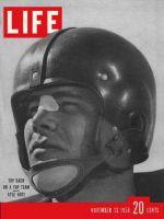 Life Magazine, November 13, 1950 - SMU's Kyle Rote, football