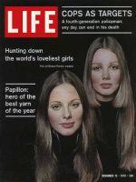 Life Magazine, November 13, 1970 - Models
