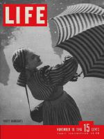 Life Magazine, November 18, 1946 - Party raincoats