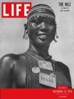 Life Magazine, November 20, 1950 - Girl of Shilluk tribe