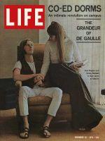 Life Magazine, November 20, 1970 - Oberlin Students in coed dorm