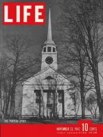 Life Magazine, November 23, 1942 - The puritan spirit, church