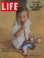 Life Magazine, November 24, 1961 - John F. Kennedy Jr. at one