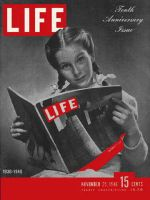 Life Magazine, November 25, 1946 - LIFE is 10 years old