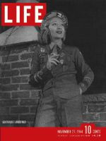 Life Magazine, November 27, 1944 - Gertrude Lawrence