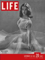 Life Magazine, November 28, 1949 - Dancer Nita Bieber
