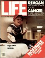 Life Magazine, December 1, 1980 - Children With Cancer