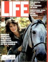 Life Magazine, December 1, 1981 - Brooke Shields