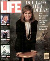 Life Magazine, December 1, 1989 - Jane Pauley Says Goodbye