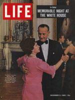 Life Magazine, December 3, 1965 - President Johnson with Princess Margaret
