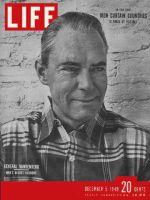 Life Magazine, December 5, 1949 - General Hoyt Vandenberg
