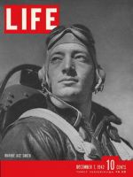 Life Magazine, December 7, 1942 - Marine ace