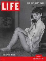 Life Magazine, December 7, 1953 - Audrey Hepburn