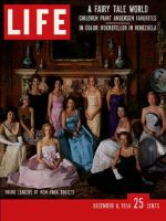 Life Magazine, December 8, 1958 - Charity balls