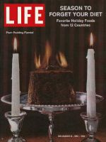 Life Magazine, December 8, 1961 - Holiday treats