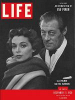 Life Magazine, December 11, 1950 - Lilli Palmer and Rex Harrison