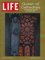Life Magazine, December 15, 1961 - Chartres