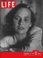 Life Magazine, December 16, 1946 - Teresa Wright