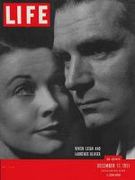 Life Magazine, December 17, 1951 - Leigh and Olivier
