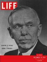 Life Magazine, December 18, 1950 - George C. Marshall