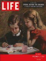Life Magazine, December 25, 1950 - Child's Christmas