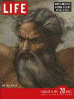 Life Magazine, December 26, 1949 - Sistine Chapel
