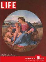 Life Magazine, December 28, 1942 - Raphael's Madonna