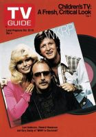 TV Guide, October 20, 1979 - Loni Anderson, Howard Hesseman and Gary Sandy of 'WKRP in Cincinnati'