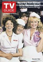 TV Guide, April 19, 1980 - The cast of 'Alice'