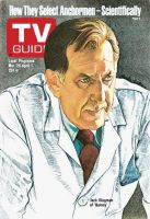 TV Guide, March 26, 1977 - Jack Klugman of 'Quincy'
