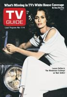 TV Guide, March 12, 1977 - Lauren Hutton in 'The Rhinemann Exchange' on 'Best Sellers'