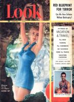 Look Magazine, January 1, 1952 - Bathing suit model