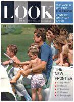 Look Magazine, January 2, 1962 - JFK taking his nieces, nephews