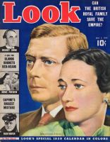 Look Magazine, January 3, 1939 - Duke and Dutchess of Windsor