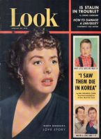 Look Magazine, January 29, 1952 - Ingrid Bergman