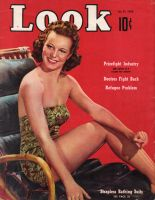 Look Magazine, January 31, 1939 - Yvonne Duval Strapless