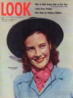 Look Magazine, February 3, 1948 - Junior Leaguer