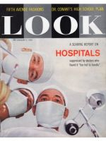 Look Magazine, February 3, 1959 - Doctors looking down at patient