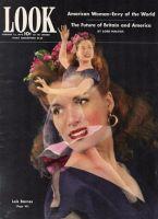 Look Magazine, February 22, 1944 - Dancer Lois Barnes