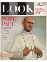 Look Magazine, February 25, 1964 - Pope Paul VI
