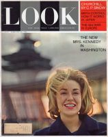 Look Magazine, February 26, 1963 - Mrs. Edward M. Kennedy in Washington