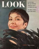 Look Magazine, March 9, 1954 - French actress JeanMarie