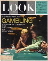 Look Magazine, March 12, 1963 - Two women gambling, blackjack