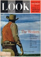 Look Magazine, March 13, 1962 - Cowboy (facing away) in a movie