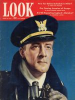 Look Magazine, March 24,1942 - Man in uniform of an ensign in the US Coast Guard