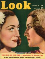 Look Magazine, March 28, 1939 - Joan Crawford and Norma Shearer