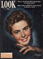 Look Magazine, April 6, 1943 - Charming photo of the very young Ingrid Bergman